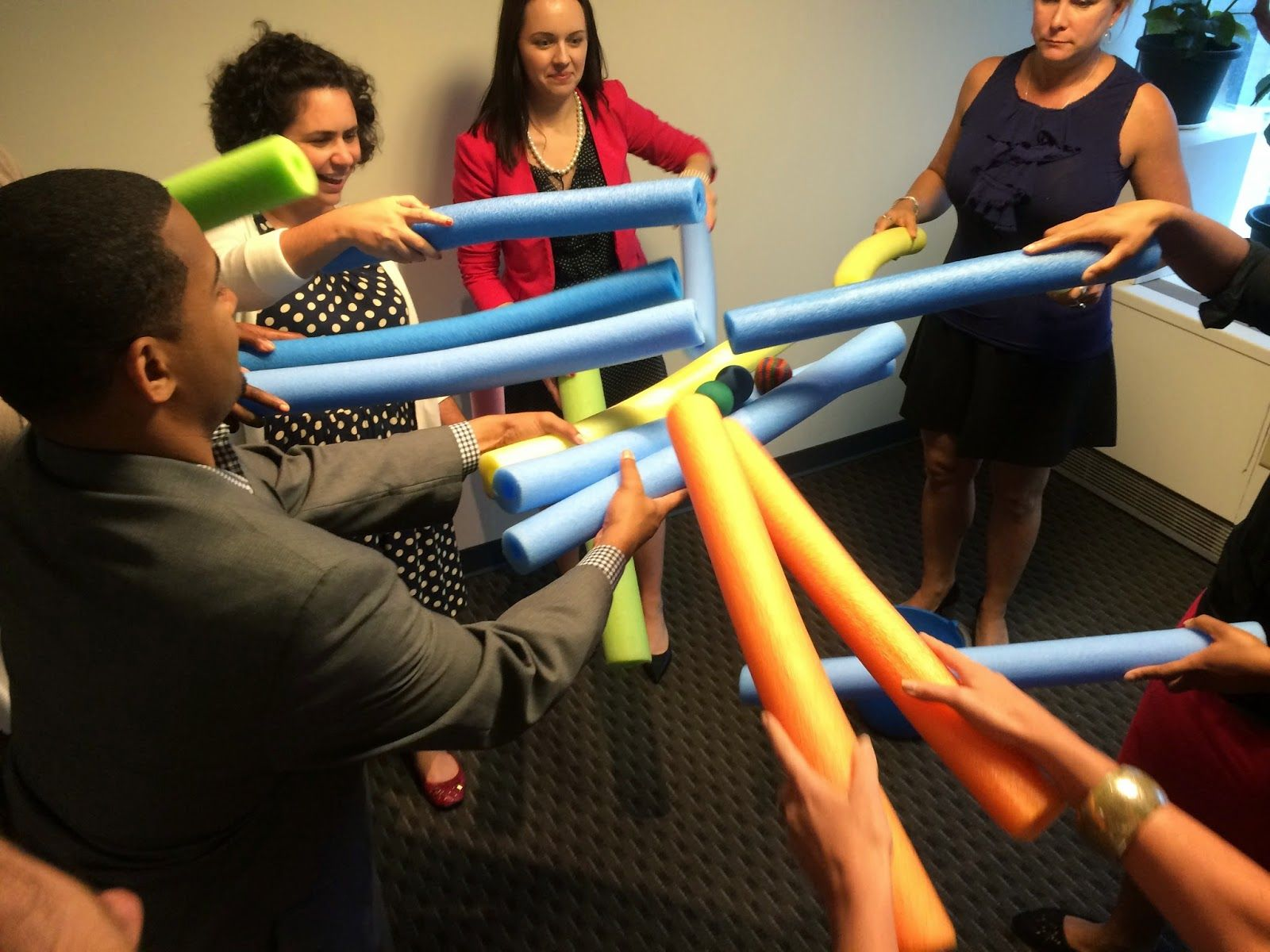 Team Building event with Syrus Team building activities