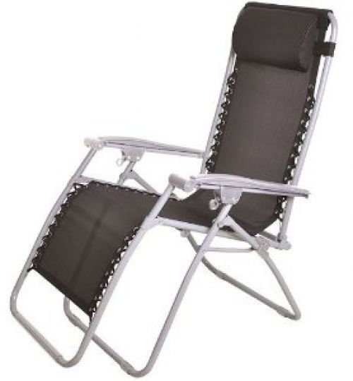 Folding Garden Chair Reclining Comfortable Sturdy Outdoor