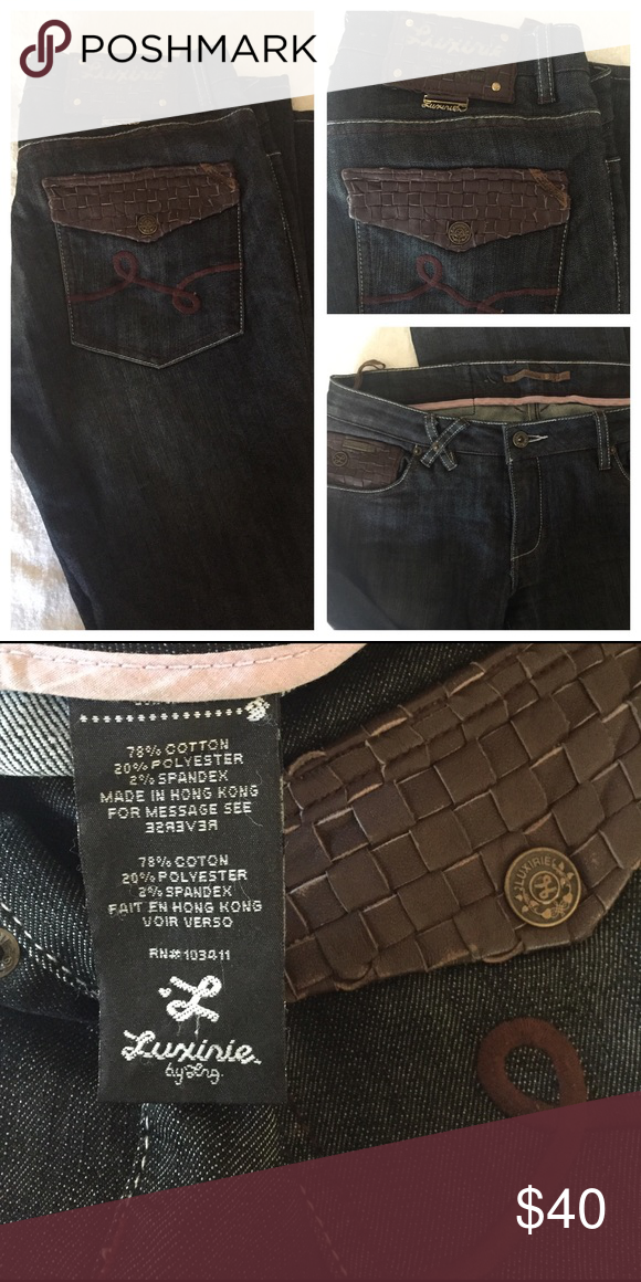 Luxerie jeans Lux jeans Lux Pants Boot Cut & Flare