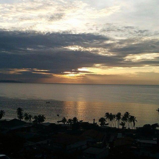 """Atardecer en la bahía de Juan griego, isla se margarita foto by @krol1303"" Photo taken by @venezuela.hermosa on Instagram, pinned via the InstaPin iOS App! http://www.instapinapp.com (09/05/2014)"