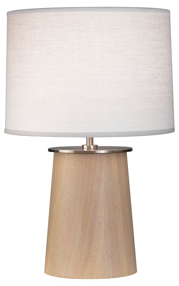 One Kings Lane Island Living Adaire Squatty Table Lamp Natural Table Lamp Lamp Lamp Shade