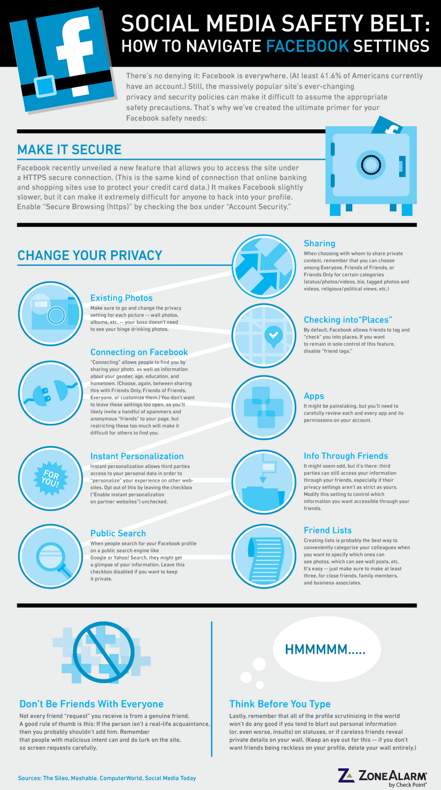 Facebook Security: Simple Guide To Staying Safe [Infographic]   Job