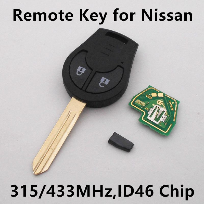 Interior Design Nissan X Trail: Car Remote Key For Nissan 350Z Altima Armada Cube Juke