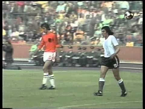 World Cup 1974 Netherlands x Argentina First HALF