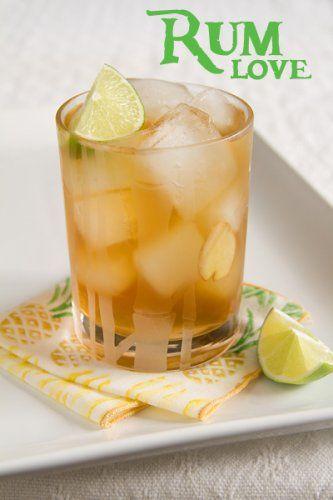 Dark & Stormy- A Caribbean Rum Cocktail