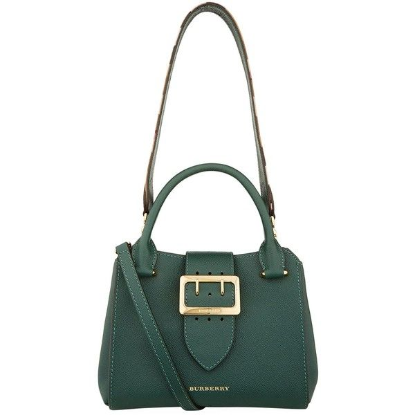 Burberry Small Buckle Tote Bag 1 195 Liked On Polyvore Featuring Bags
