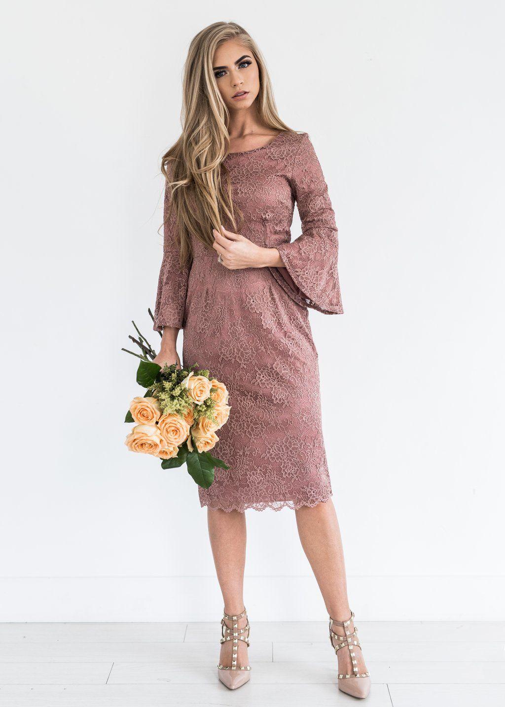 April Mauve Lace Dress Jessakae New Arrivals Lace Lace Dress Mauve Spring Season Spring Time Spring Fashion Midi D Dresses Mauve Lace Dress Lace Dress