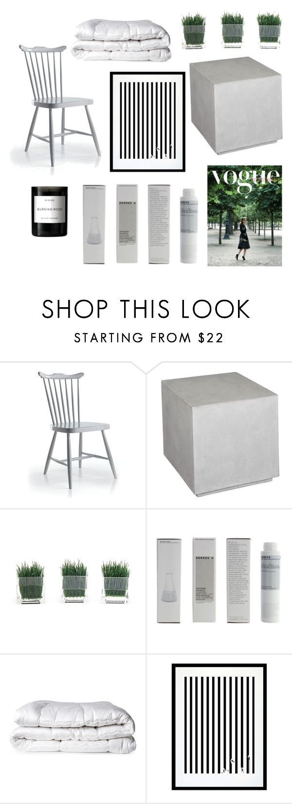 """""""Untitled #23"""" by sabrinaballe on Polyvore featuring interior, interiors, interior design, home, home decor, interior decorating, Uttermost, Korres, Brinkhaus and Eleanor Stuart"""