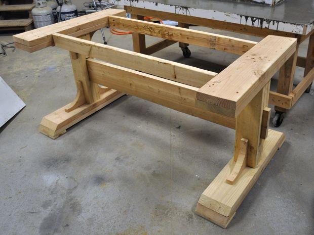Peachy Table Base Kitchen Table Ideas Concrete Patio Diy Download Free Architecture Designs Grimeyleaguecom