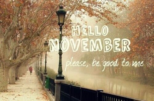 HELLO NOVEMBER, Please, Be Good To Me