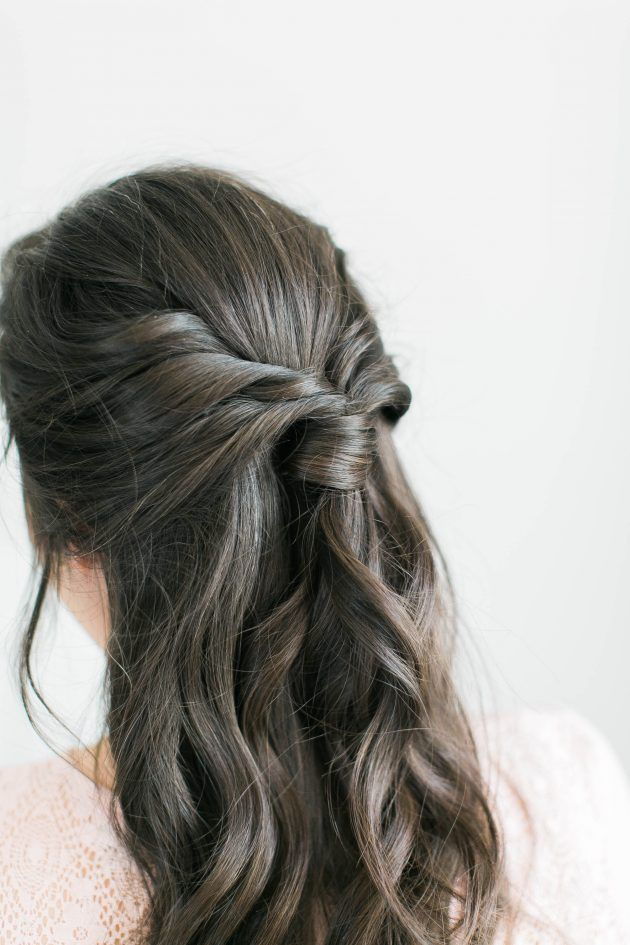 3 Step Fancy Half Up -   15 hair Tutorial half up ideas