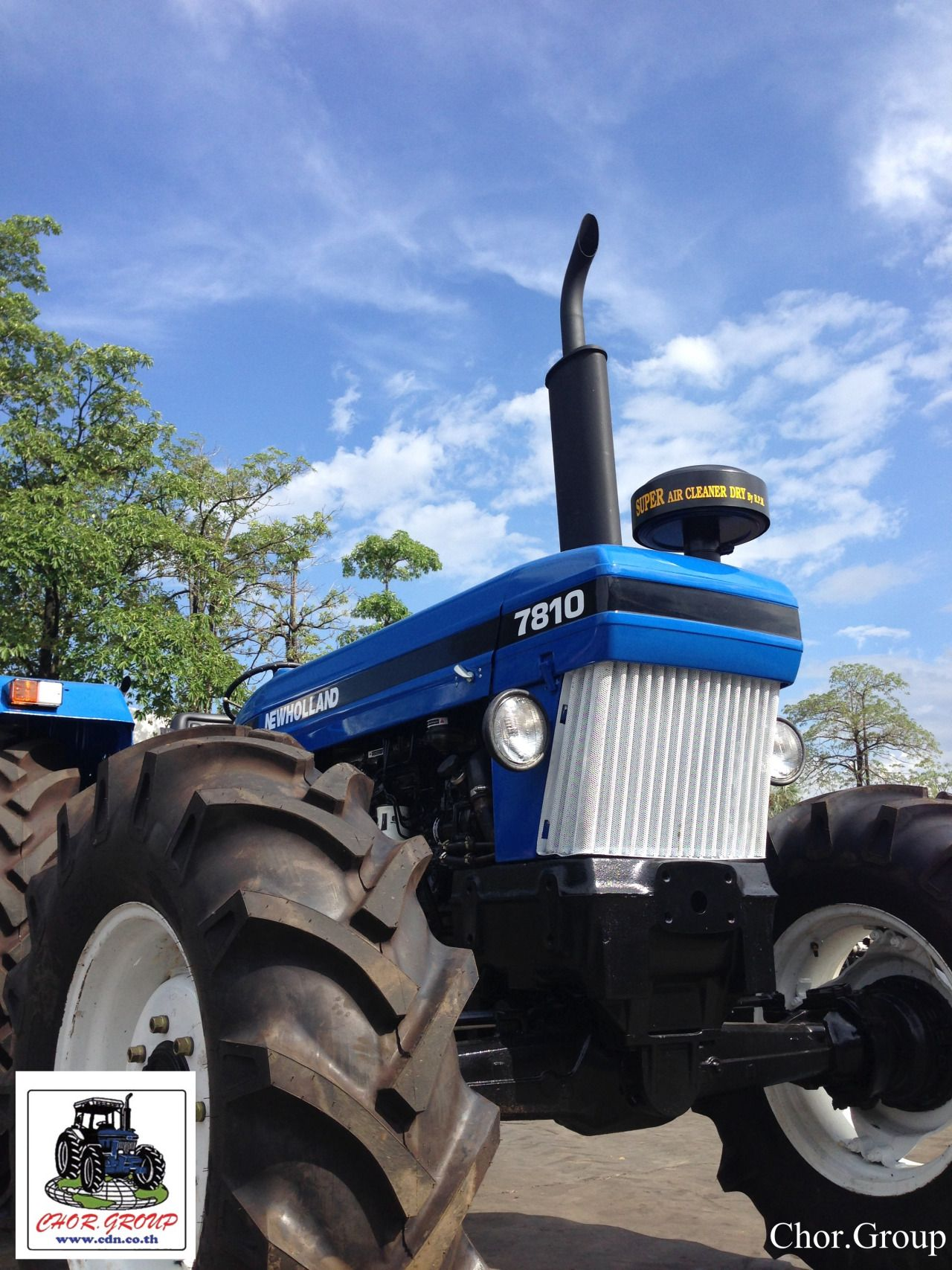 Example Used Tractor Refurbished Ford New Holland 7810 4wd At