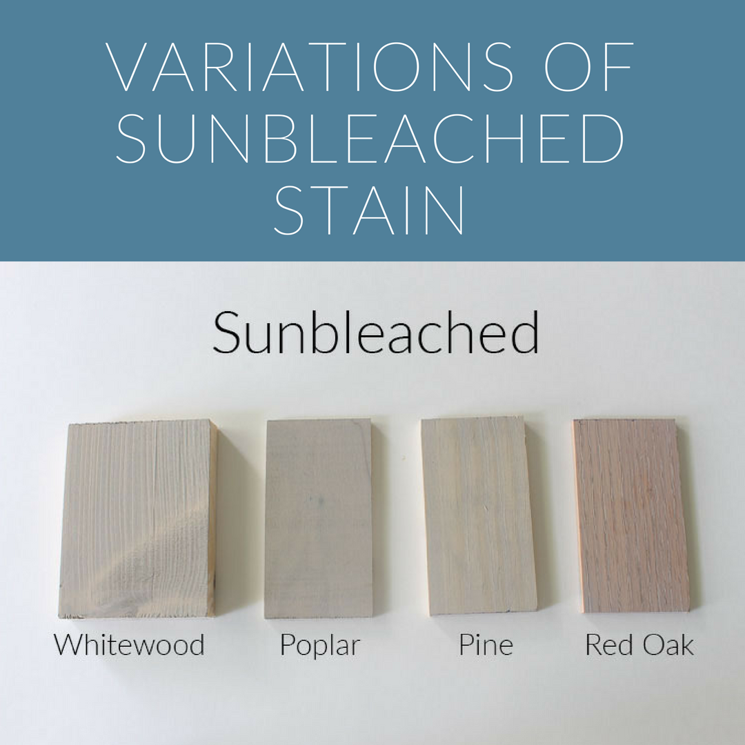 How 10 Different Stains Look On Different Pieces Of Wood Within The Grove Staining Wood Staining Cabinets Stain On Pine