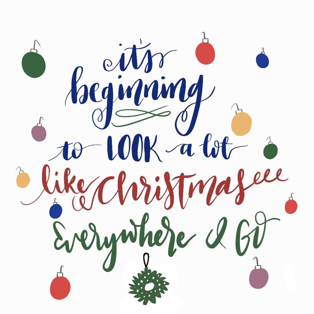 It\'s beginning to look a lot like Christmas!! Everywhere I goooo ...