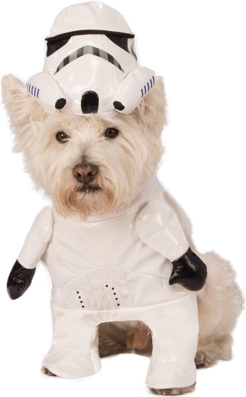 Rubie S Costume Company Storm Trooper Dog Costume Small Chewy Com Dog Costume Stormtrooper Pet Costumes
