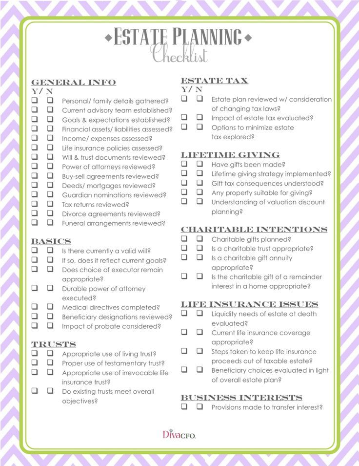 estate planning checklist early retirement planning pinterest