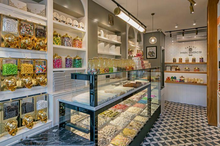 Imren Sweet Shop By Kst Architecture Interiors Antalya Turkey Interior Architecture Cafe Design Retail Design
