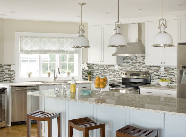 Best Erin Glennon Interiors Kitchens White Cabinets Light 400 x 300