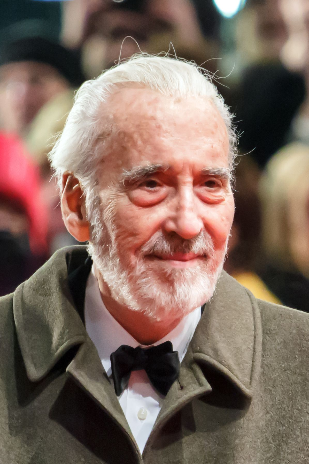 Christopher Lee:  Francisco Scaramanga in the James Bond, Saruman in The Lord of the Rings film trilogy and The Hobbit film trilogy, and Count Dooku in the final two films of the Star Wars prequel trilogy (Can anyone say I wish this was my grandfather?????)