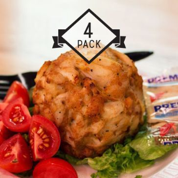 Have crab cakes from Maryland delivered through Goldbelly