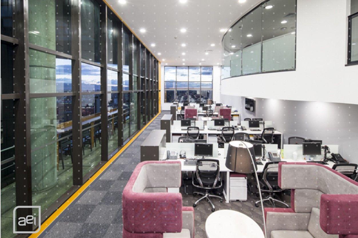 Aei Construyo Las Oficinas Del Laboratorio Farmac Utico  # Muebles Deko Bogota