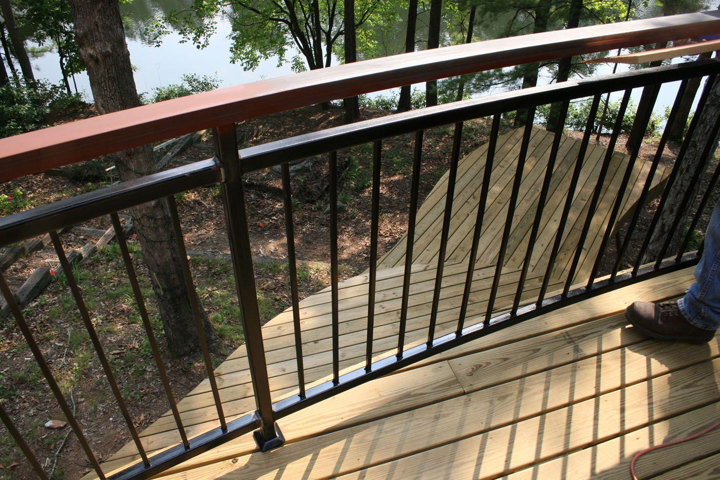 Best Deck Railing Designs Wood Distinctive And Various 400 x 300