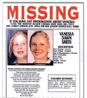 Vanessa Smith, 15 Years Missing - Cold Case Investigations-- PLEASE