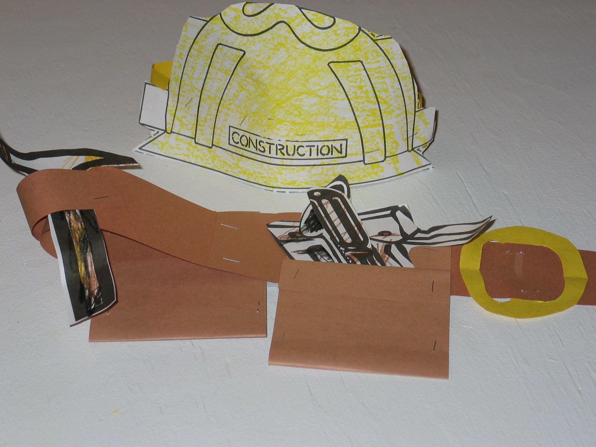 community helper construction helper preschool arts crafts i