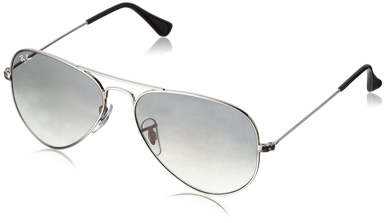 55d65fd5beb Amazon.com  Ray-Ban RB3025 Aviator Large Metal Non-Polarized Sunglasses   Clothing