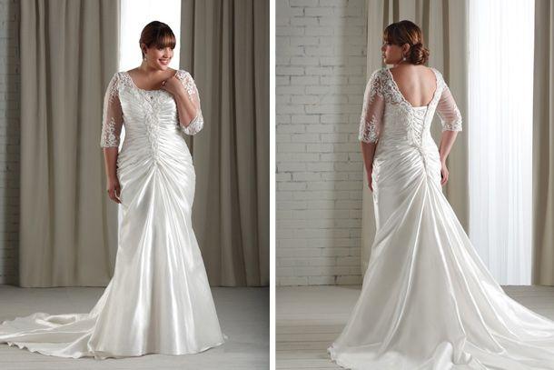 Vestidos de boda para novias maduras