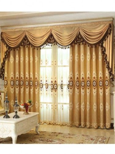 2016 European And American Style Luxury Embroidered Curtains For Living  Room Sheer Curtains For Bedroom Window Curtain Kitchen