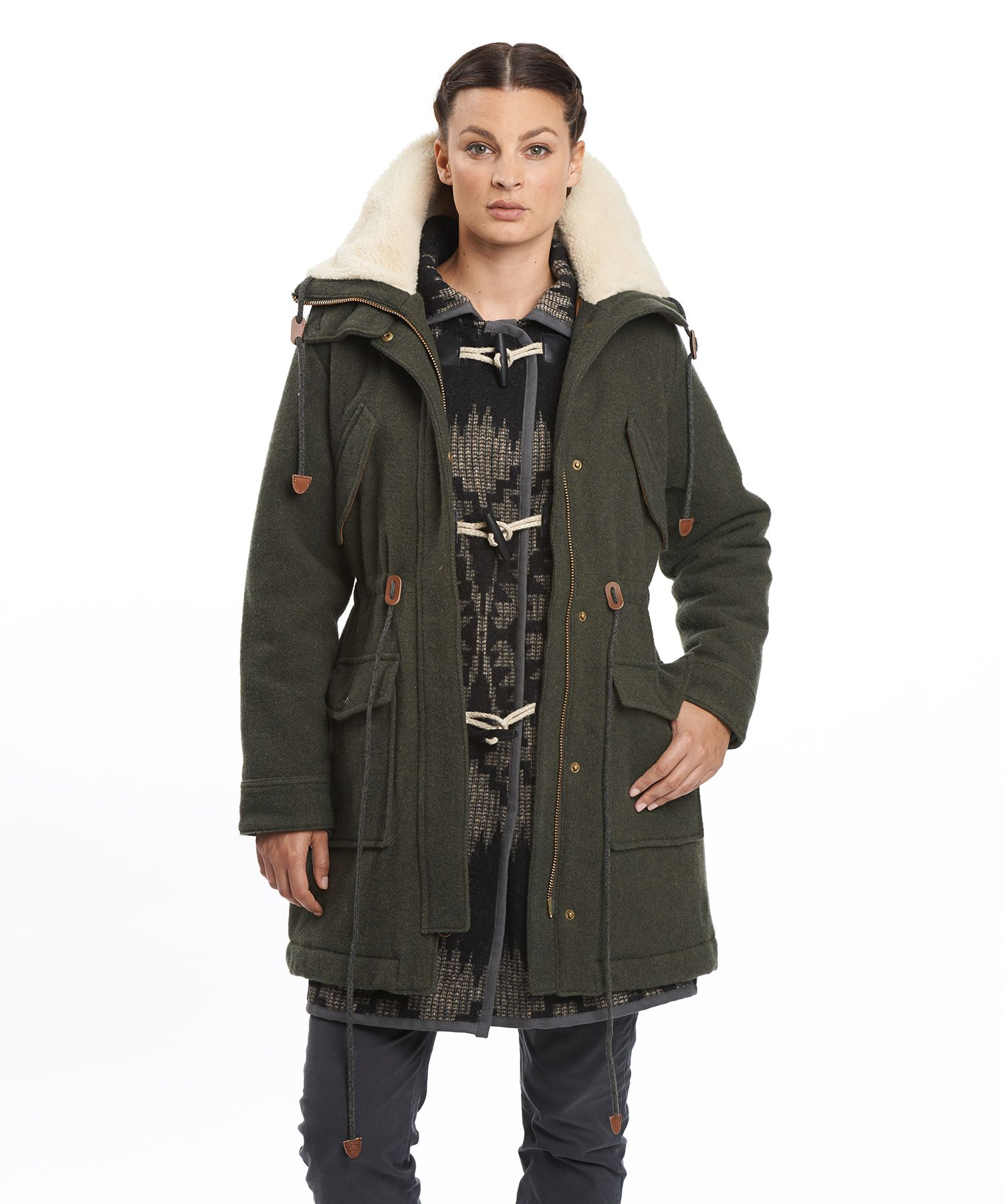 Watch - Winter Womens field coat pictures video