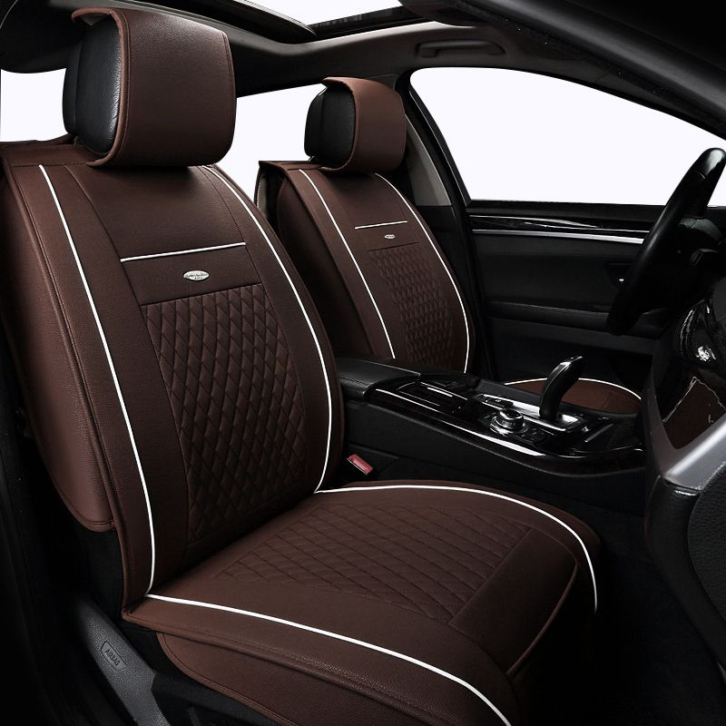 Leather Car Seat Cover Set For Nissan Qashqai X Trail Tiida Seats Protector Cushion Auto Interior Accessories Styling Affiliate