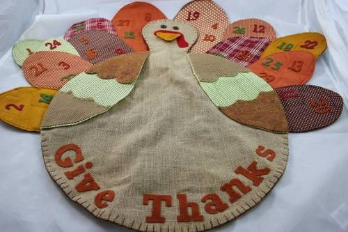 Pottery Barn Kids Quot Give Thanks Quot Thanksgiving Turkey Advent