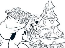 Scooby Doo Christmas Coloring Pages | Scooby-Doo Christmas Colouring