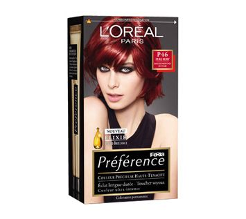 prfrence reflets coiffure pinterest - Coloration Rouge L Oreal
