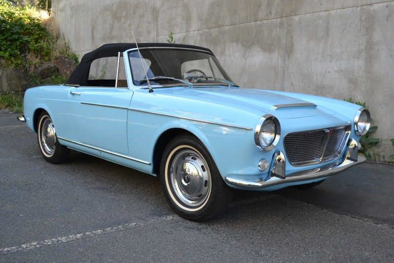 1960 Fiat 1200 Spyder With Images Vintage Cars Classic Sports