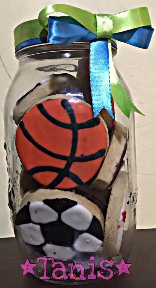 Frasco con balones