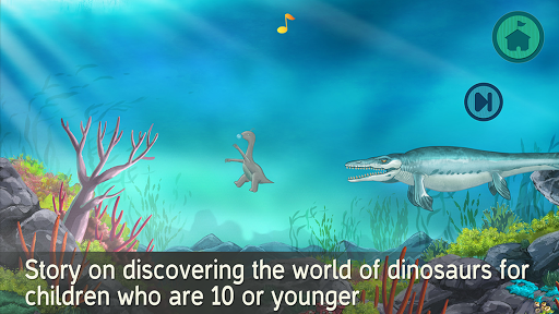 Explore the world of dinosaur with baby dinosaur Coco!<br>You are invited to the world of adventure of Coco.<br>'Fun, heart-touching, and inspiring story'<br>'Amusing animation movements'<p>1. fairy tale book<br>2. Intuitive operation method that allows children to use on their own  <br>3. Inspiring story for children <br>4. Interactive content for children to watch the animation, listen to the music, and enjoy fun games <p>This is the Series 2 of the Dinosaur Adventure that is enjoyed with…