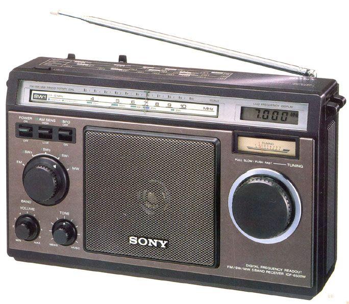 Sony Icf 6500w Sony Radio Vintage Radio