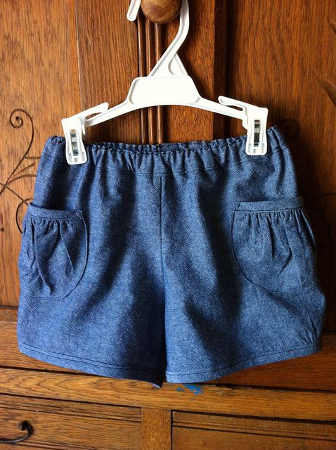 oliver + s Puppet show shorts... cant wait to make these, planning to do so in chambray