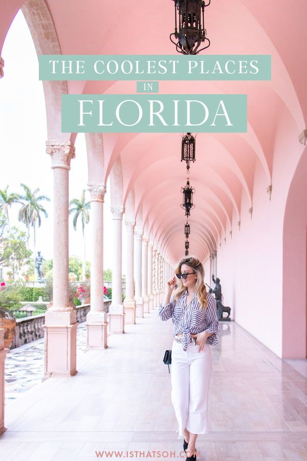 Planning a Florida getaway but not sure where to go?! There are so many incredible destinations in Florida that picking the right one for a holiday isn't exactly an easy task, so I decided to round up the most magical destinations in Florida so you can narrow down that list and start planning! #Florida #USA #Miami