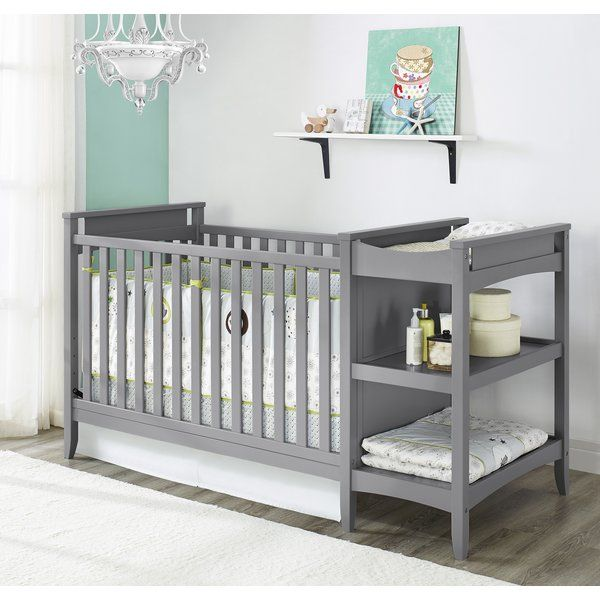 The Baby Relax Emma 2 In 1 Crib And Changing Table Combo