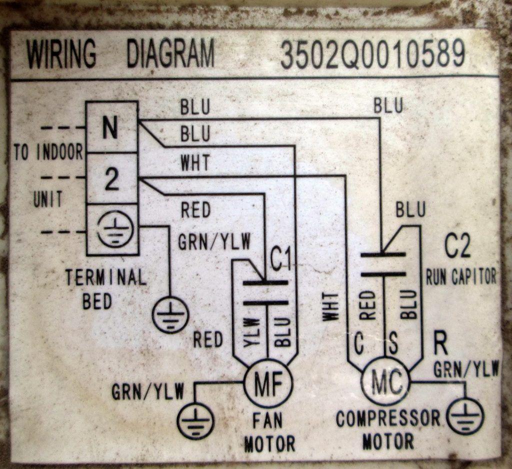 Wiring Diagram Ac Sharp Inverter New Split System Inverter Air Conditioner Reverse Cycle