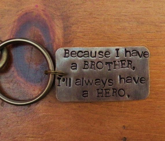 Key Chain For BrotherGift BrotherBrother Of By RaiseMyGlass