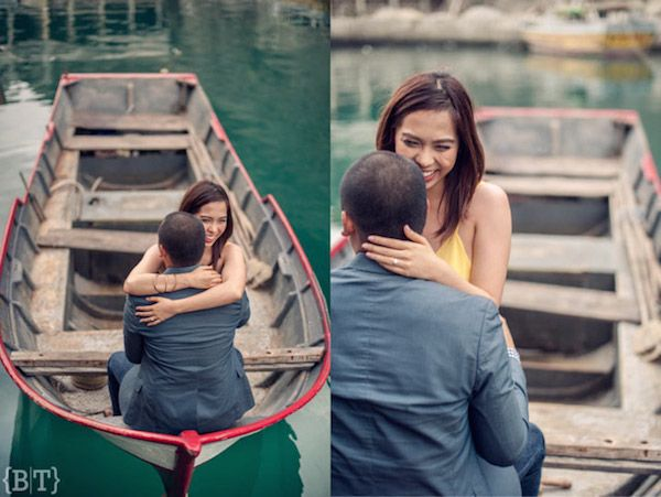 Lovely Couple Engagement Shoot  | http://brideandbreakfast.ph/2014/09/13/an-endearing-ease/ | Photographer: Benjie Tiongco
