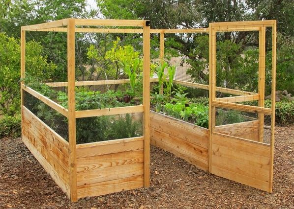 garden bed kit. Deer Proof Cedar Complete Raised Garden Bed Kit - 8 X 20 Might