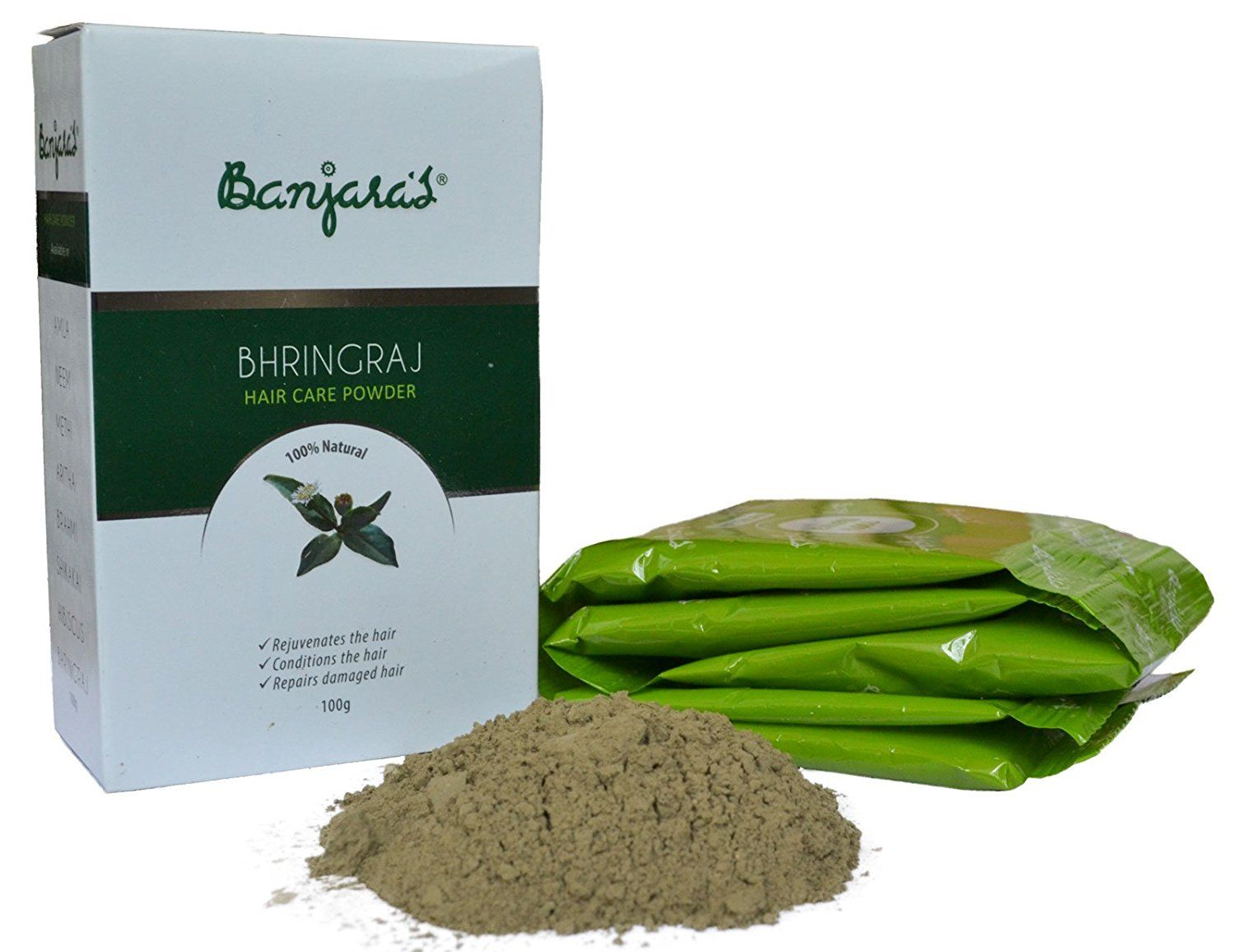 Eclipta Alba Bhringraj Herbal Powder (Pack of 2) *** This is an Amazon Affiliate link. Read more at the image link.