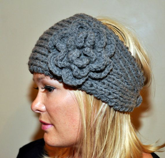 Punto de venda Headwrap calentador oído crochet lana invierno ...