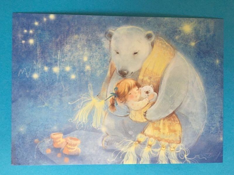 Little Girl and Polar Bears Artist Babok   eBay